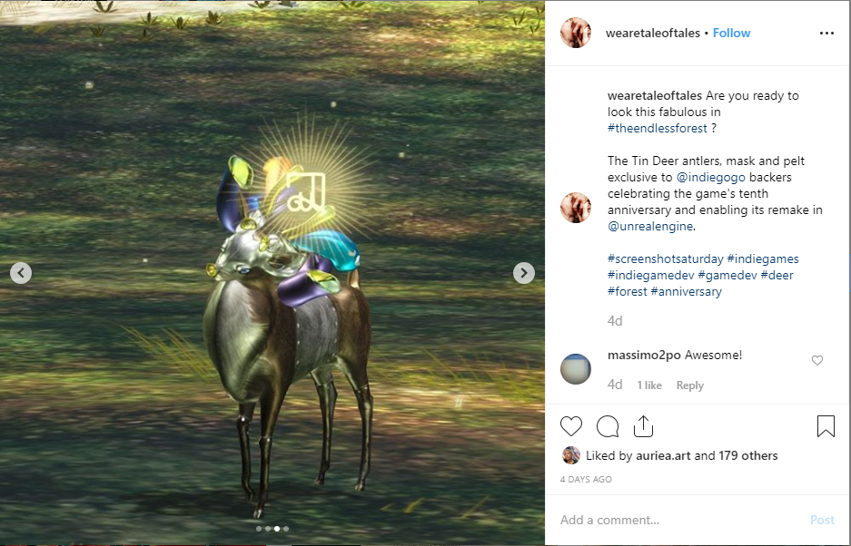 Everybody loves the Tin Deer! On Instagram it became our best like post ever.